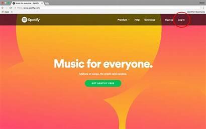 Password Spotify Change Website Account Reset Filters