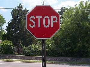Who, Put, That, Stop, Sign, There