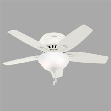 low profile ceiling fans home depot newsome 42 in indoor low profile fresh white