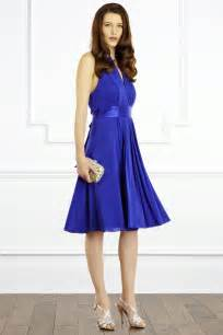formal wedding invitations goddess dress cobalt blue wedding dress from coast