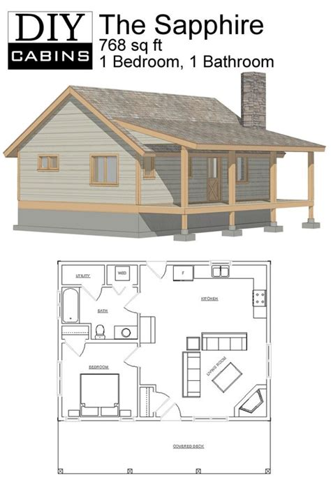 DIY Cabins - The Sapphire Cabin