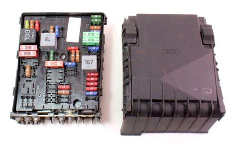 engine bay fuse relay panel block   vw gti jetta mk