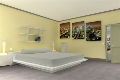 d馗oration chambre peinture decoration peinture chambre maison design bahbe com