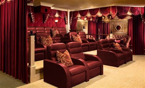 home theater drapes make your home theater more real lushes curtains