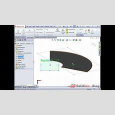 How To Create A Sheetmetal Cone Youtube