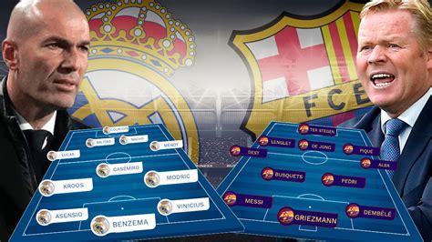Real Madrid - Barcelona: Un Clásico de campeonato
