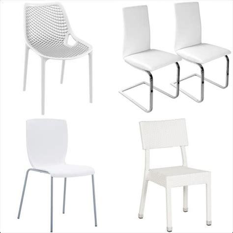 chaise blanche pas cher chaise blanche cuisine comparer les prix et les produits
