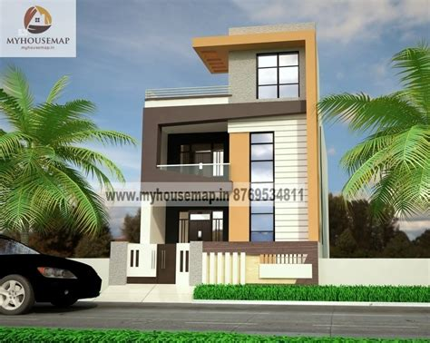 Home Design 20*30 : Front Elevation Design