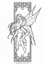 Coloring Pages Fairies Popular sketch template