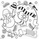 Coloring Winter Pages Adults Sheets Illustration Children Blizzard Mittens Dreamstime Cartoon Background Inspirations Hat Vector Whitesbelfast Drawing Branch Russia Celebration sketch template