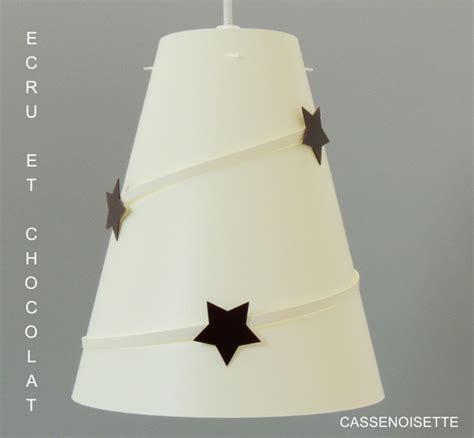 lustre chambre bébé lustre chambre bb ecru toil chocolat fabrique casse