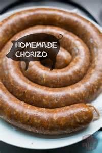 Homemade Chorizo Sausage Recipe