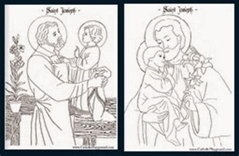 st joseph coloring page