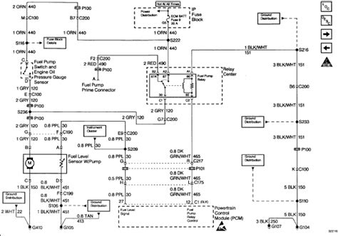 Wiring Diagram For 1994 Gmc S15 Jimmy by I No Fuel Leaving My Fuel It S A 96 Chevy S10