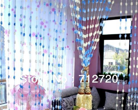 100 cm 200 cm belle pompon balle rideau perle rideau