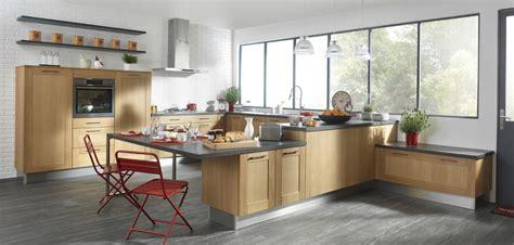 plan de travail cuisine chene cuisine en bois clair couleur pour collection et cuisine