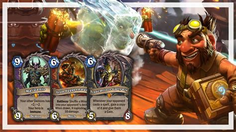 hearthstone gvg cards
