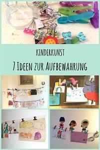 Fotos Aufbewahren Ideen : 7 kreative ideen zur aufbewahrung von kinderkunst ~ Frokenaadalensverden.com Haus und Dekorationen