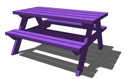 kids picnic table wood childrens picnic table