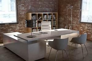Weißer Hochglanz Schreibtisch : 17 b ro schreibtisch designs kunden mit stilvollen m beln begeistern ~ Frokenaadalensverden.com Haus und Dekorationen