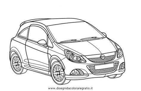 Kleurplaat Auto Opel by Coloriage Voiture Opel Sketch Coloring Page