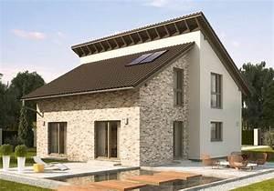 Günstige Häuser Bauen : das fertighaus modell nussbaumallee ist ein liebenswerter entwurf ma geschneidert f r die 4 ~ Buech-reservation.com Haus und Dekorationen