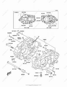 Kawasaki Atv 2003 Oem Parts Diagram For Crankcase
