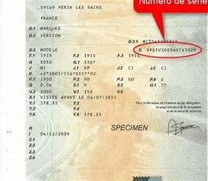 Ou Trouver Les Chevaux Sur Carte Grise : identification etiquette constructeur ~ Gottalentnigeria.com Avis de Voitures