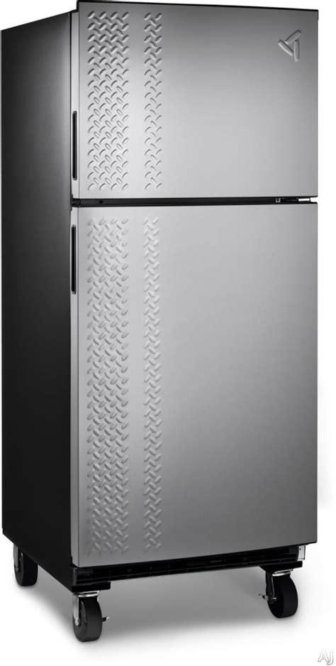 gladiator by whirlpool refrigerator gladiator garf19xxyk 19 0 cu ft top freezer garage