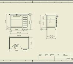 jewelers bench sketchup plans woodworking bench plans