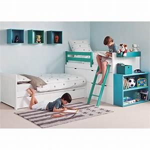 Lit Enfant Double : coin nuit design et haut de gamme pour chambre d 39 enfants sign asoral ~ Teatrodelosmanantiales.com Idées de Décoration