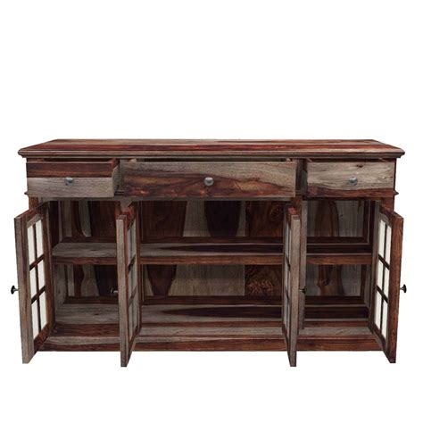 Dining Table Sideboard by Farmhouse Solid Wood Dining Table Chairs Sideboard Set