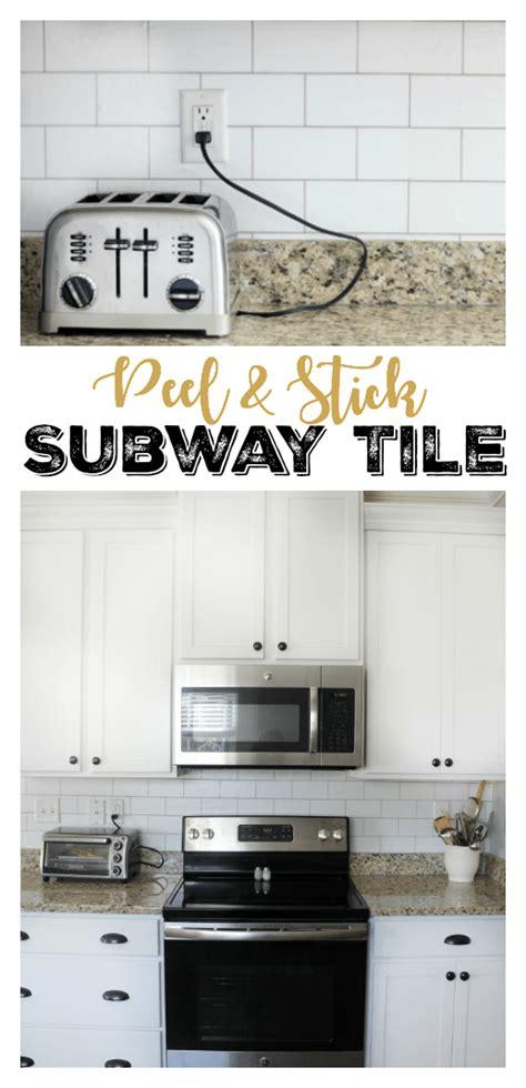 peel stick subway tile backsplash  wallpaper