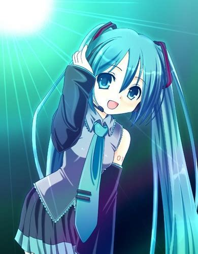Anime Images Hatsune Miku Wallpaper And Background Photos