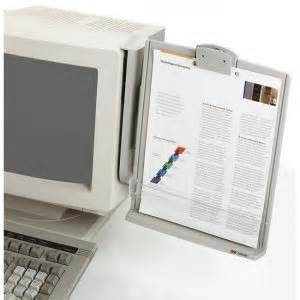 3m dh540 monitor mount document holder With document holder for computer monitor
