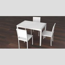 White Kitchen Table  Resources  Free 3d Models For