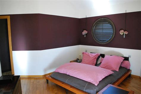 couleur de chambre a coucher moderne utiliser deux couleurs pour peindre sa chambre comment