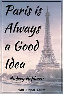 25+ beautiful P... Inspirational Paris Quotes