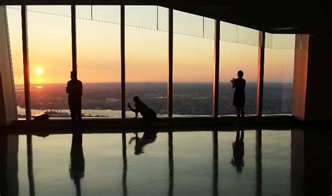 1 Wtc Observation Deck Opening Date by World Trade Center Observation Deck Opens To The