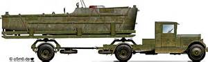 Engines Of The Red Army In Ww2  Zis5 N2p Pontoon Carrier
