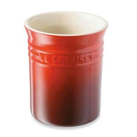 pot rangement cuisine pot à ustensiles le creuset rangements et