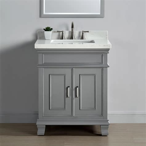 single vanity mission 28 quot single sink middleton vanity