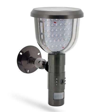 security light and camera dvr security camera solar power outdoor light pir motion