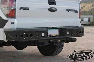 F150 Series Venom Rear Bumper W   Backup Sensor Cutout  Add