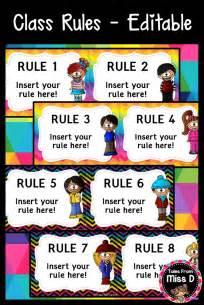 create   class rules display   editable