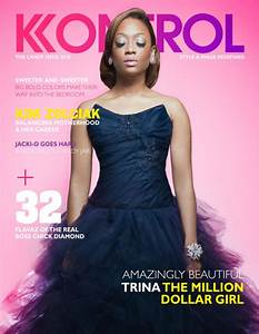 Trina Covers Kontrol Magazine | HipHop-N-More