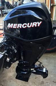 25 Hp Mercury 4 Stroke Bigfoot Outboard Boat Motor For Sale