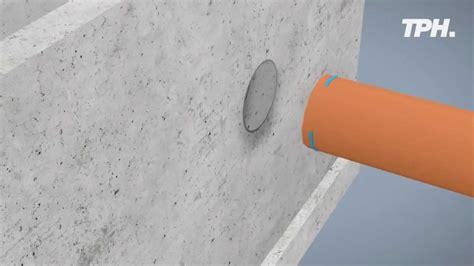 spülkasten rohr undicht schnelle abdichtung rohrdurchf 252 hrungen fast sealing of pipe breakthroughs