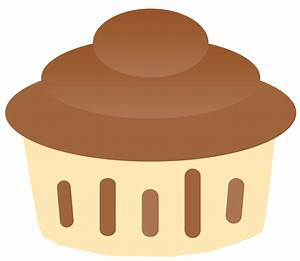 Chocolate Cupcake Clipart - Clipart Suggest