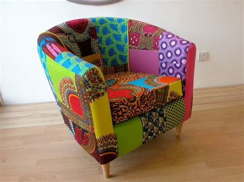 technicolour tub chair designed  ray clarke upholstery
